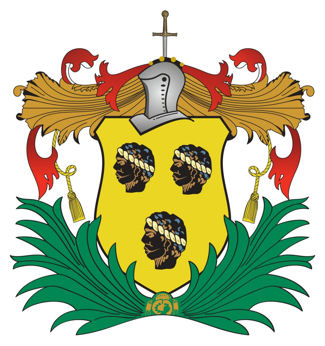 Colour Samuel Mico Coat Of Arms